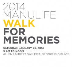 Manulife Walk for Memories
