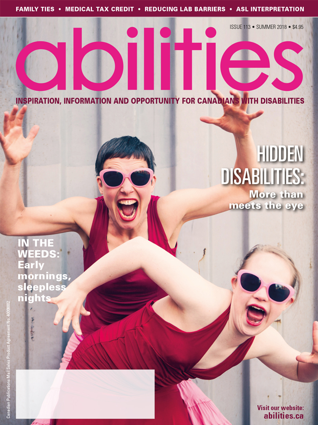 Cover Art for Abilities journal