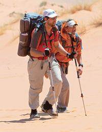 Weinhenmayer and Evans take on Expedition Impossible